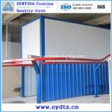 Línea de pintura de la capa del polvo de sistema de sequía y de polvo de la humedad que curan el sistema
