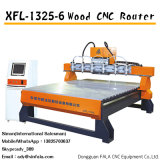 Xfl-1325-6 Gravierfräsmaschine, die Maschine CNC-Holz-Fräser schnitzt
