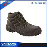 Ботинки безопасности пальца ноги высокой лодыжки Ufa027 стальные работая ботинки