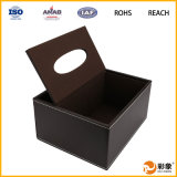 Manufacture professionale Unique Leather Tissue Box con Highquality Material
