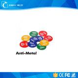 Etiqueta engomada de la etiqueta de Ntag21X NFC con la viruta compatible con todos los dispositivos