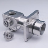 CNC Machined Precision Parte de Stainless Steel Metal Head
