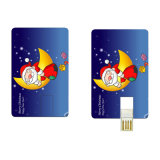 Lecteur flash USB de carte de visite professionnelle de visite avec le logo libre Tc06