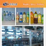 Haustier-Flaschen-Orangensaft-füllende Zeile