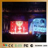 전람 500X500 단계 실내 HD P3.91 임대 단말 표시 LED