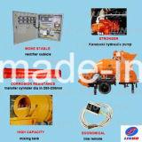 Портативная поставка машинного оборудования насоса конкретного смесителя