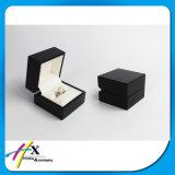 Caja de presentación de madera de la joyería del anillo de la alta calidad pequeña