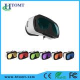 Glaces en plastique du virtual reality 3D de Vr Shinecon Vr