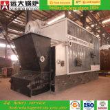 Il carbone/biomassa Campo-Montati di serie del tubo dell'acqua ha infornato la caldaia a vapore di viaggio della griglia 6ton