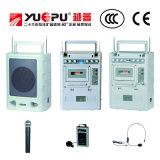 Amplificador portátil con SD cassette del USB y dos micrófonos inalámbricos