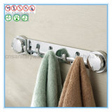 Über Door Hanging Hook für Towel und Coat mit Suction Cup Chromed Finish