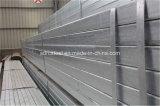 Pipa de acero cuadrada de la INMERSIÓN caliente de ERW y rectangular galvanizada