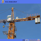 Chinesischer Turmkran-Lieferant, 4t Qtz50 Spitzeninstallationssatz-Turmkran