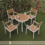 Insieme di legno della Tabella pranzante 5PCS del patio della mobilia del giardino di modi di svago