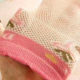 Los calcetines del diseño del acoplamiento del verano con el gato diseñan los calcetines de la buena calidad para el bebé