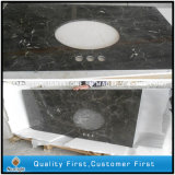 Китайские слябы Emperador темные /Brown мраморный для плиток и Countertops