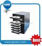 Fabrik Großhandels-CD DVD Fach der Maschinen-1 mit 5PCS