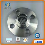 La bride de Wn d'acier inoxydable de F316/316L a modifié la bride à ASME B16.5 (KT0336)