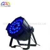 A PARIDADE do diodo emissor de luz da lâmpada 24*18W da iluminação do diodo emissor de luz da PARIDADE 64 do diodo emissor de luz do estágio do DJ pode iluminar-se