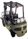 3.5t ООН Gasoline/LPG Forklift с Nissan K25 Engine с CE и Triplex 6.0m Mast (FGL35T)