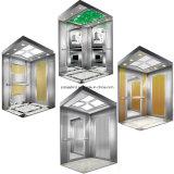 Titanium лифт пассажира нержавеющей стали с комнатой машины