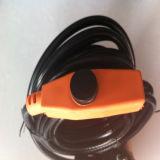 Cable térmico eléctrico de la cinta del cable térmico del tubo de la válvula del tiempo frío de la cría de animales con el termóstato