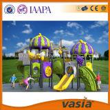 Cour de jeu extérieure d'enfants normaux de la CE de Vasia