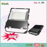 100W LED Flut-Beleuchtung mit Osram SMD 3030 3 Yeas-Garantie-bester Preis und super helles 200W 150W 80W 50W 30W 20W Flut-Licht