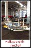 палубный судовой кран морского пехотинца заграждения костяшки 20t@15m гидровлический