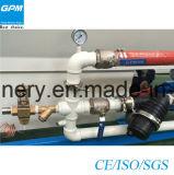 Linha dupla da extrusão da tubulação da proteção elétrica do PVC dois