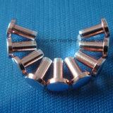 Commuter les extrémités bimétalliques de contact de tête de radius d'alliage de /Silver de pièces de contact
