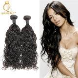 まっすぐな人間の毛髪の拡張100%未加工インドの毛