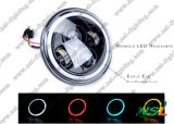 Faro 7inch del LED dell'indicatore luminoso del Wrangler del LED fuori dall'automobile e dall'automobile del LED