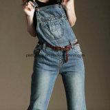 Pantalon global de femmes de denim de qualité de jeans classiques de dames