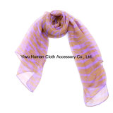 LadyのためのBright ColorのFashion Printed Scarf女性