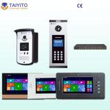 Taiyito M et appartement visuel d'intercom de système de téléphonie visuel de porte d'usine de D