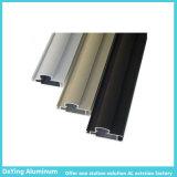 Fachmann klopfender lochender bohrender ausgezeichneter Oberflächenbehandlung-industrieller Aluminiumstrangpresßling