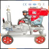 Máquina de inyección de chorro de bomba de alta presión para cemento, lechada