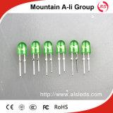 발광 Diode/LED 표시 점화가 546 녹색 발광 다이오드 표시에 의하여 점화한다