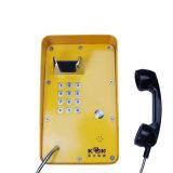 La soluzione di rete ferroviaria di telefonia del IP Knzd-09A impermeabilizza il telefono