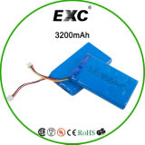 блок батарей батареи полимера Li-иона 3.7V 605085 3200mAh перезаряжаемые