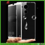 Huaweiの仲間8のための超薄い透過TPUの携帯電話の箱