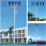 Football Pitch 15m High Mast 폴란드를 위한 1000W HPS Light