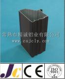 محرّك [كسنغ] ألومنيوم قطاع جانبيّ مع سوداء يؤنود ([جك-ك-90055])
