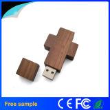 나무로 되는 열쇠 고리 USB 섬광 드라이브 선전용 선물