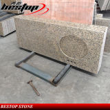 Оптовые естественные каменные Countertop ванной комнаты и верхняя часть гранита кухни