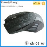 Elegante und attraktive ergonomische optische Maus des Spiel-6D