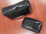 Sacs noirs de Madame Promotional Gift Zipper Cosmetic de mode d'unité centrale