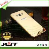 Cubierta del teléfono móvil del color TPU+PC del oro para Samsung