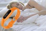 Smartband neuf E06 traqueur sec de forme physique de bracelet de bande de couleur de 0.69 pouce avec le moniteur du rythme cardiaque
